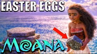 30 Easter Eggs of MOANA You Didn