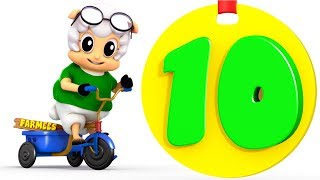 Learn to Count | One to Ten | 1 - 10 | Kindergarten Learning Songs for Children by Farmees