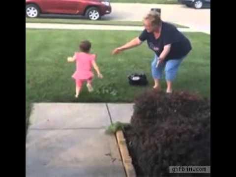 Little Girl Prefers Grandpa Over Grandma