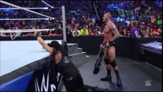 WWE Smackdown | Roman Reigns Vs. The Miz | Randy Orton | 22 August 2014