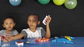 unboxing uno card edit sendiri asiiik