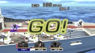 TMNT: Smash Up (PS2) walkthrough - Casey Jones