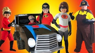 Disney Pixar INCREDIBLES 2 Halloween Costumes Toys and Incredimobile