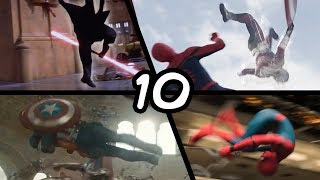 Doing Top 10 Stunts From Movies (Spiderman, Star Wars, Captain America: Civil War)