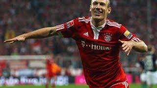 Arjen Robben | Goals and Skills | 2009-2013