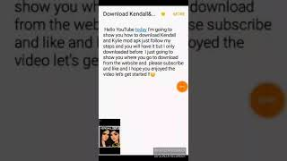 How to download Kendall and Kylie mod apk