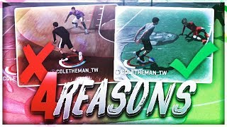 4 REASONS WHY YOU CAN'T DRIBBLE! BEST DRIBBLE TIPS IN NBA 2K18!