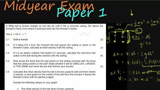2018 | Grade 12 | MidyearExam | Physical Science | Paper 1 | Question 3