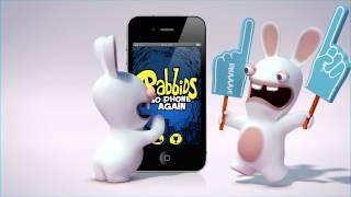 Rabbids: Go phone again video game trailer - iOS iPhone iPad