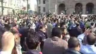 مظاهرات مصر 25 يناير يوم الغضب   يسقط حسني مبارك