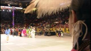 Head Young Lady Dancer - 2015 Gathering of Nations Pow Wow - PowWows.com