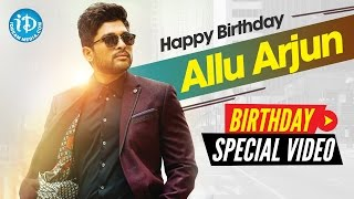 Stylish Star Allu Arjun Birthday Special | Special Wishes From iDream Media | Something Special #32