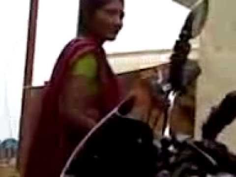 woman smoking @ bargawa (m.p.) recorded by shivam