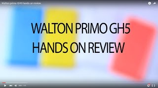 Walton Primo GH5 Hands On Review