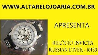 Relógio Invicta Russian Diver Aço 10133