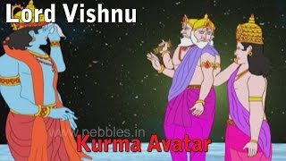 Lord Vishnu Kurma Avatar | Lord Vishnu Stories in Hindi | Vishnu Avatars Stories