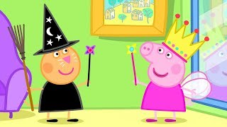 Peppa Pig Episodes - Halloween - Peppa the Fairy Princess! - Cartoons for Children
