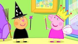 Peppa Pig English Episodes - Halloween - Peppa the Fairy Princess! - #070