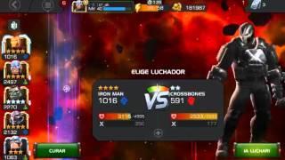 Combate contra Crossbones - Marvel CoC