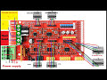 How to wire a 3d printer arduino RAMPS 1.4 A4988 stepper motor driver