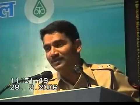 Vishwas Nangare Patil Maharashtra IPS officer Marathi Motivational speech    by praful bhanarkar