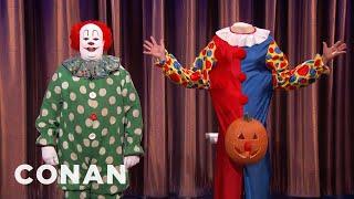 Butterscotch The Clown's Halloween Plans  - CONAN on TBS
