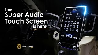 Super Audio Touch Screen for Land Cruiser is Here!