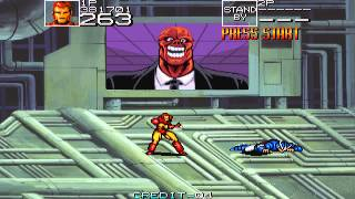 1991 Captain America and the Avengers Arcade Old School Game playthrough Retro Game