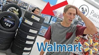 WALMART HIDE AND SEEK (BEST HIDING SPOTS)