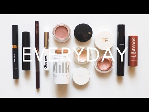 What's In My Makeup Bag Everyday Minimal Fast Routine