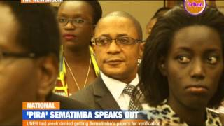 TNR: 'Pira' Sematimba Speaks Out