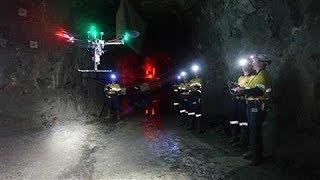 Self-Directed Drones Delve Deep Into Mines