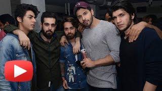 Aryan Khan Single Appearance At Mumbai Nightclub