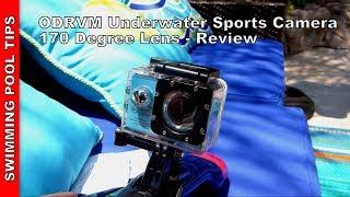 ODRVM Waterproof Action Camera! 170 Degree Lens, 1080p HD video - $60!