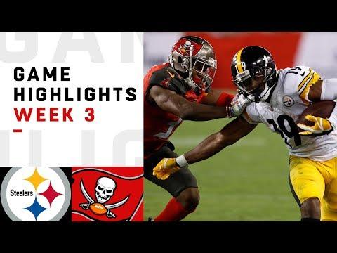 Xxx Mp4 Steelers Vs Buccaneers Week 3 Highlights NFL 2018 3gp Sex