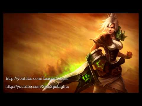 Riven Voice English League of Legends