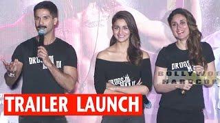 Udta Punjab | Trailer Launch | Shahid Kapoor | Kareena Kapoor | Alia Bhatt | Diljit Dosanjh | 2016