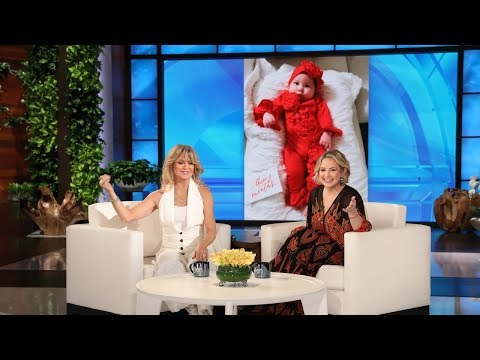Goldie Hawn Got a Little Too Close to the Action During Her Granddaughter s Birth