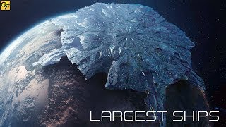 Largest Space Ships in Science Fiction Films
