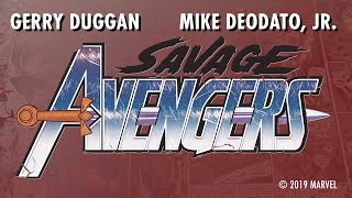 SAVAGE AVENGERS: Rapid Fire Questions with Gerry Duggan | Marvel Comics