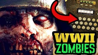 *NEW* SECRET ZOMBIES TEASERS & WEBSITE FOUND! STORYLINE EASTER EGGS! (Call of Duty WW2 Zombies)