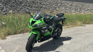 2016 Kawasaki ZX6r Test Ride