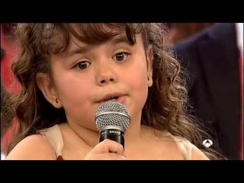 Lucía García sorprende cantando Nessun Dorma final primer programa apoteosico