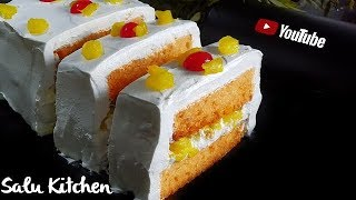 Cake Challenge: എല്ലാവർക്കും ഉണ്ടാക്കാം പേസ്റ്റ്ട്രി    NO [Egg-Oven- Beater] Pastry    Salu Kitchen