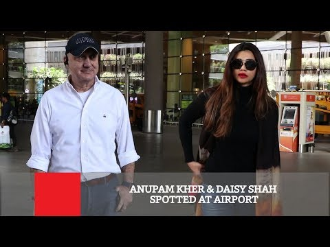 Xxx Mp4 Anupam Kher Daisy Shah Spotted At Airport 3gp Sex