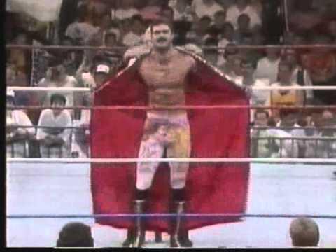 Ravishing Rick Rude Vs Sonny Blaze WWF 1990