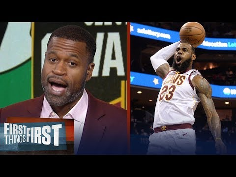 Xxx Mp4 Stephen Jackson On How LeBron Will Lead Cavs To A Game 3 Win Over Boston NBA FIRST THINGS FIRST 3gp Sex