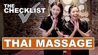 EP14 THE CHECKLIST - Thai Massage