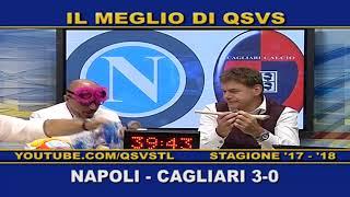 QSVS - I GOL DI NAPOLI - CAGLIARI 3-0 TELELOMBARDIA / TOP CALCIO 24