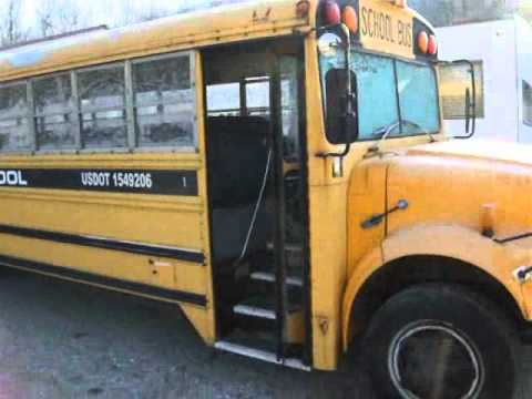 1990 International School bus